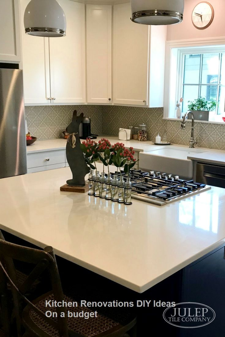 New DIY Kitchen Renovations And Makeovers Ideas On A Budget #kitchenideas  #renovation | Küche In 2018 | Pinterest