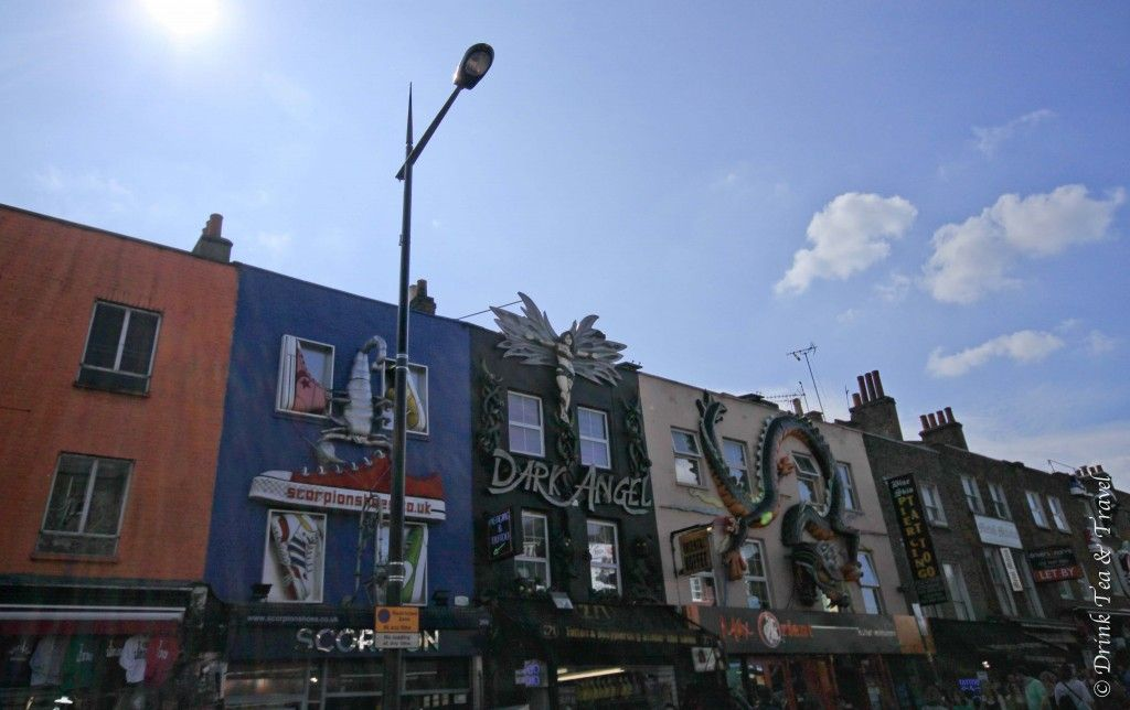Camden High St in Camden Town, London  Drink Tea and Travel   Exploring Alternative Culture in Camden Town, London   http://www.drinkteatravel.com