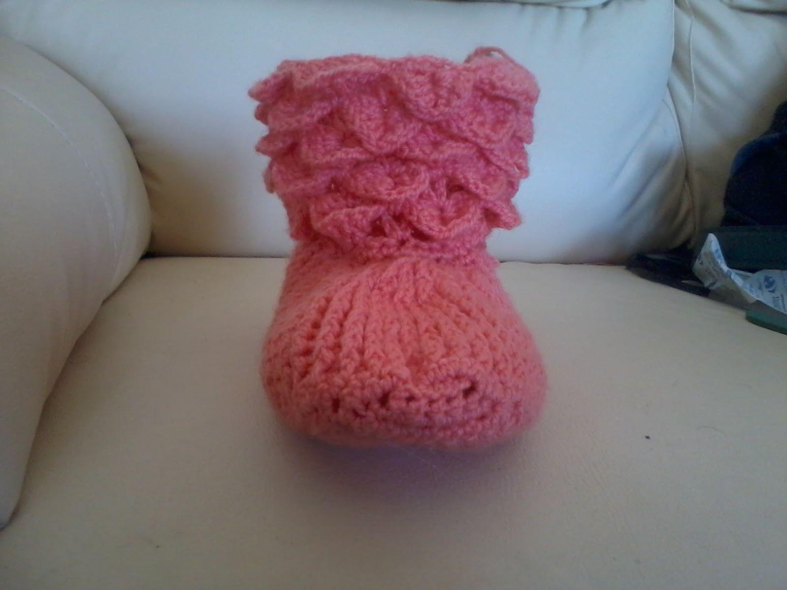 Misma bota Frente   Crochet stuff   Pinterest