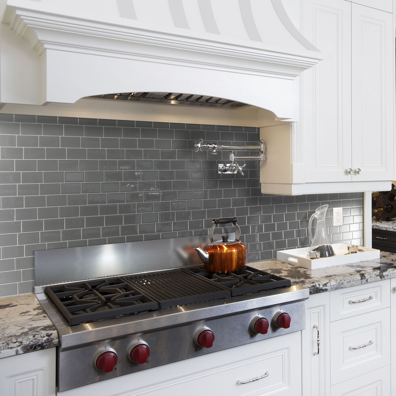 Peel And Stick Kitchen Backsplash Smart Tiles Kitchen Makeover