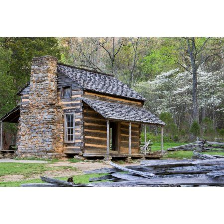 John Oliver Cabin In A Forest Cades Cove Great Smoky