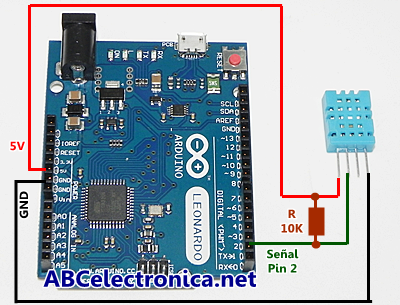 Dht1122 Abc Proyectos Electrónicos Arduino Computer Hardware Electronic Components