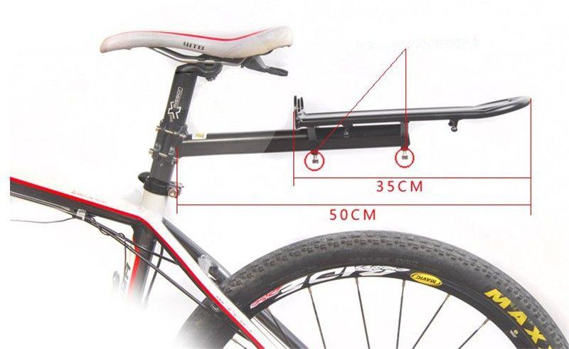 KLIK Soporte Trasero para Parrilla de Bicicleta
