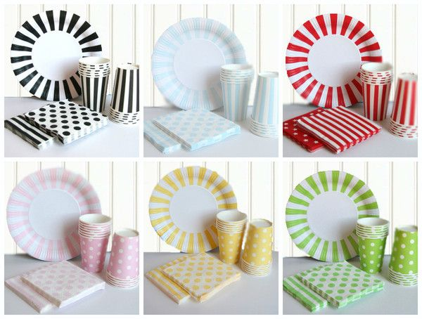 For the fashion-savvy party stylist this boutique range of paper plates cups  sc 1 st  Pinterest & For the fashion-savvy party stylist this boutique range of paper ...