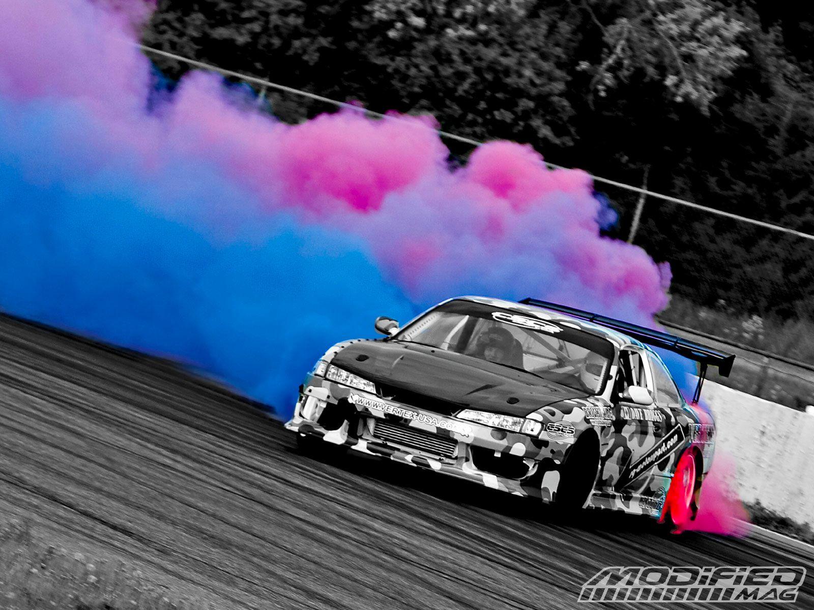 I\Pink and Blue | Drift cars, Custom cars