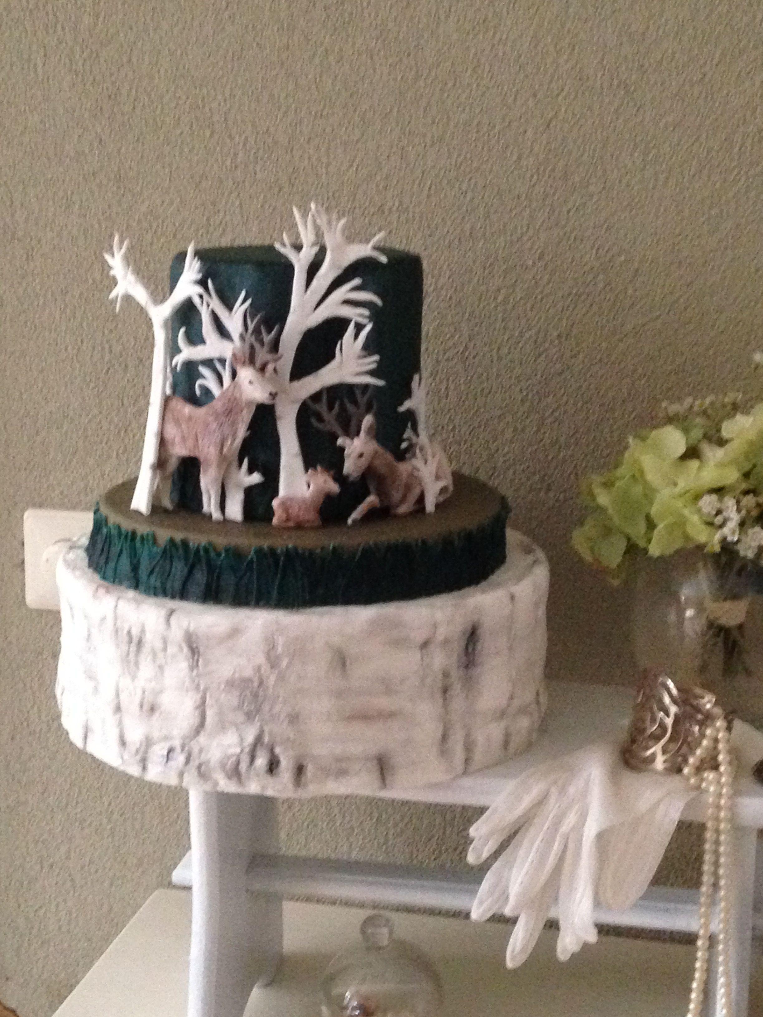 Rendier cake