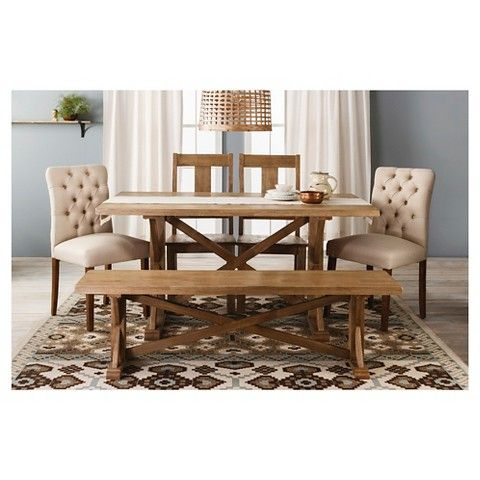 Incredible Brookline Tufted Dining Chair Set Of 2 Threshold Ibusinesslaw Wood Chair Design Ideas Ibusinesslaworg