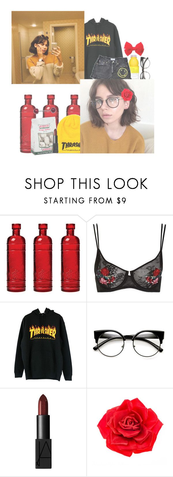 """""""I HATE YOU I LOVE YOU"""" by pastelprincesslol ❤ liked on Polyvore featuring Cultural Intrigue, Topshop, NARS Cosmetics and Johnny Loves Rosie"""
