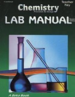 Abeka Chemistry Lab Manual Key Second Harvest Curriculum Chemistry Labs Abeka Chemistry