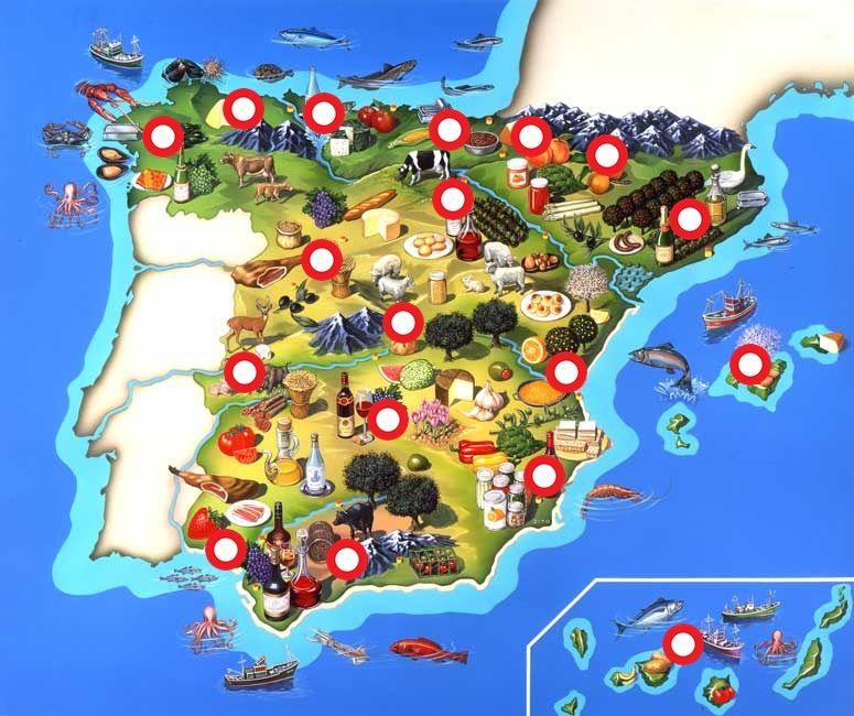 Platos tpicos de Espaa por comunidades autnomas Hecho con