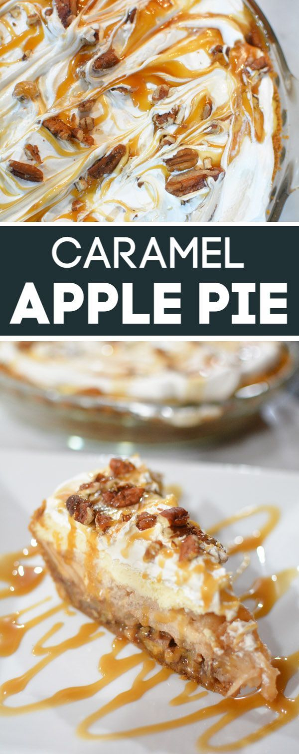 Caramel Apple Pie Made With Caramel Candy - Mommy's Fabulous Finds