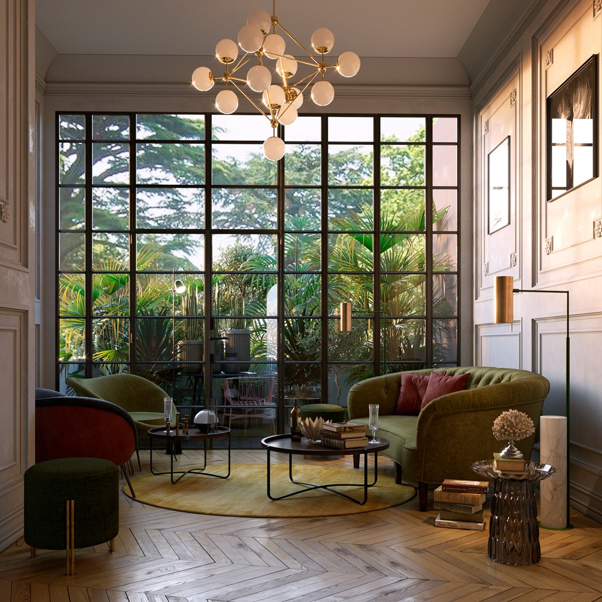 Cozy Reading Room In Roma On Behance Cozy Reading Rooms Home House Interior
