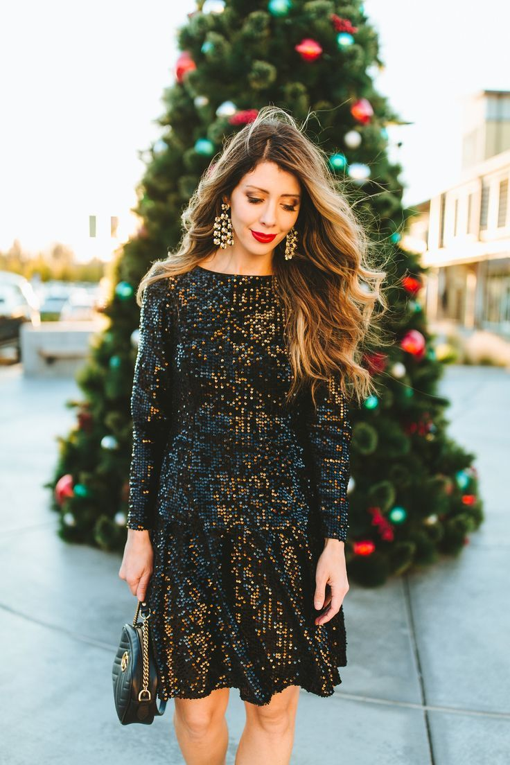 New Years Eve Party Look Winter dress outfits, Yellow