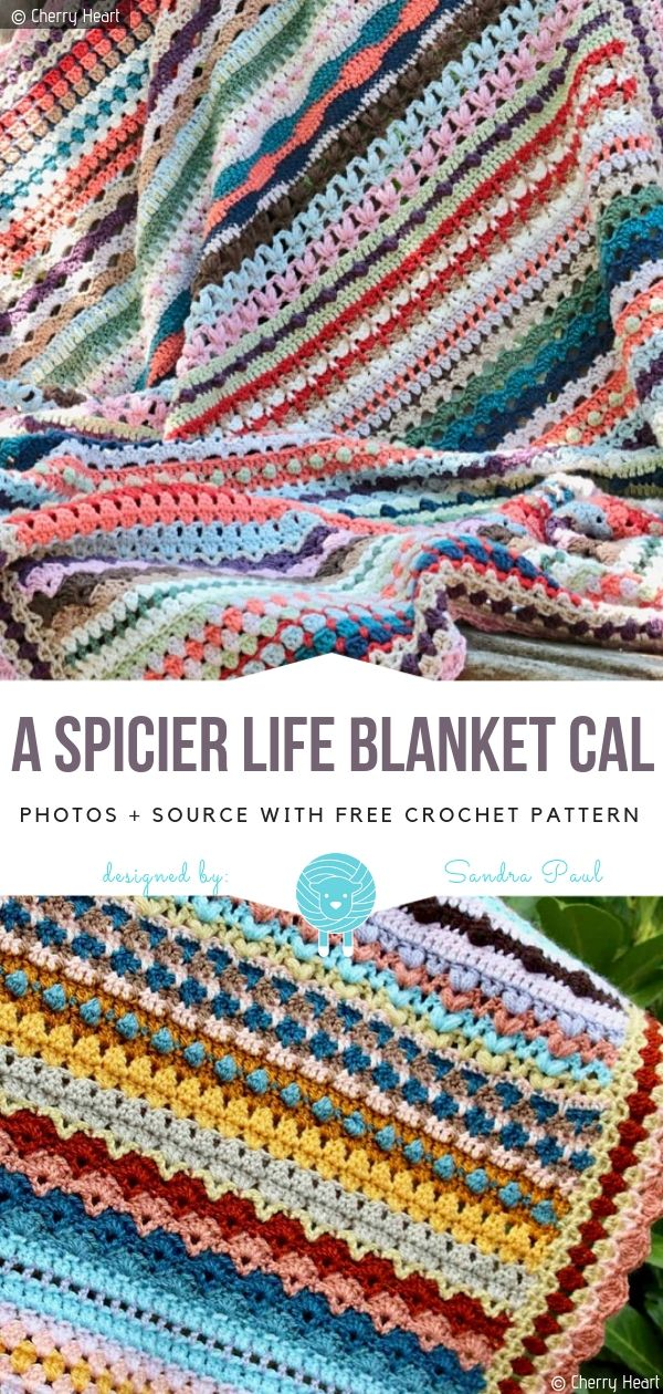 Great CALs for 2019 Free Crochet Patterns