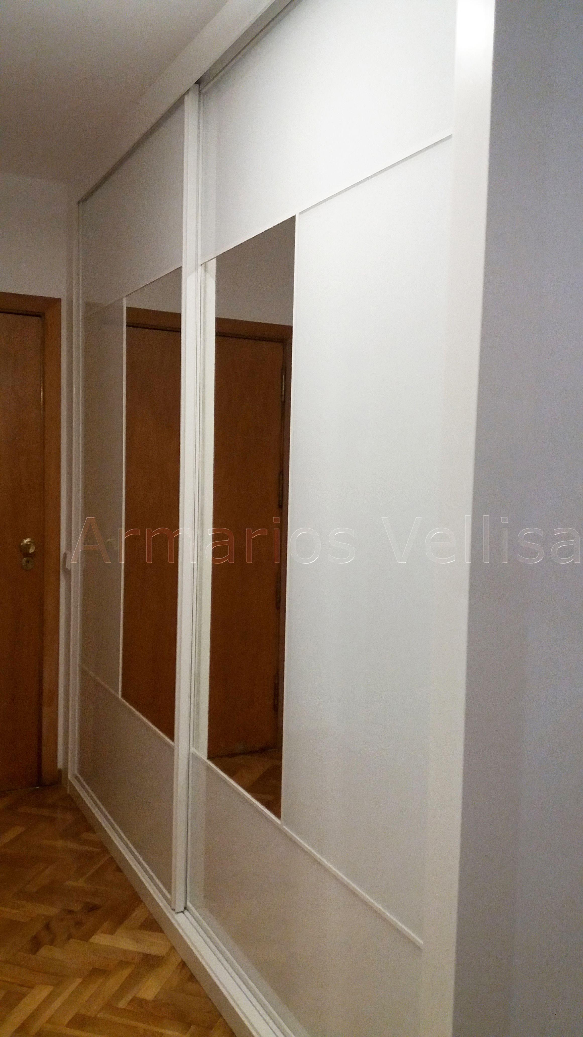 Armario empotrado en dormitorio principal. Frente de armario de ...