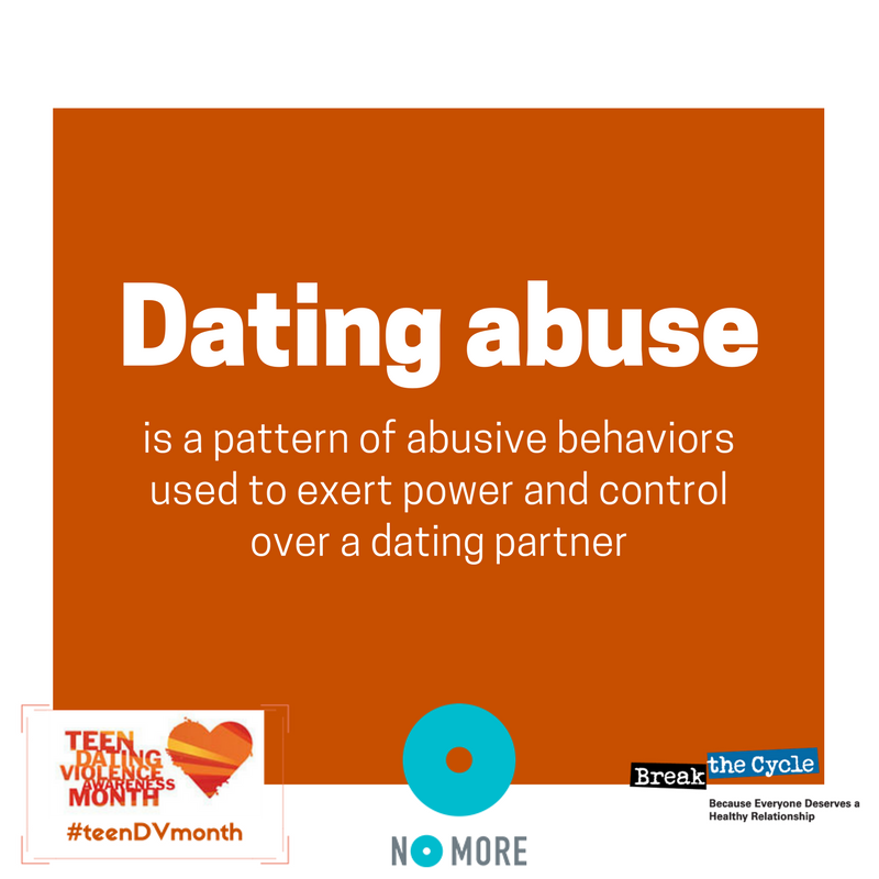 Help for dating abuse