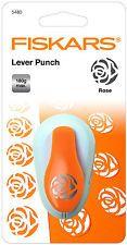Fiskars Lever Punch Rose Flower 5480