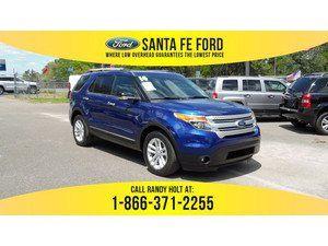 2014 Deep Impact Blue Metallic Ford Explorer Xlt 37062p Ford Fusion Ford Explorer Xlt Ford Explorer
