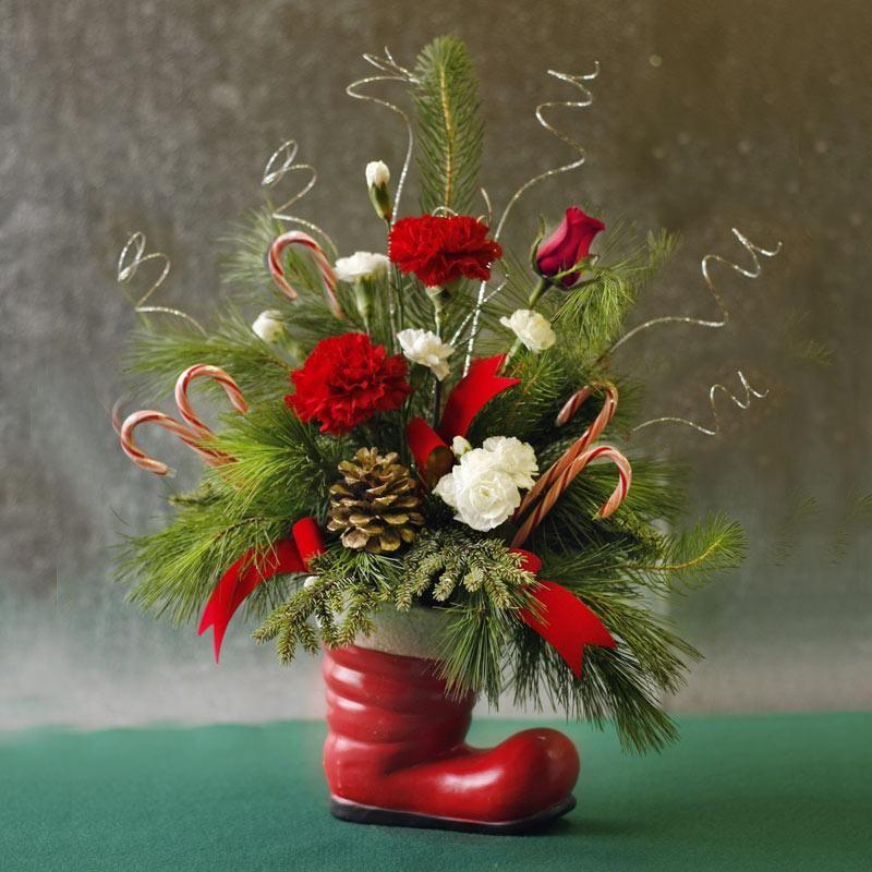 Flowers christmas centerpiece google search