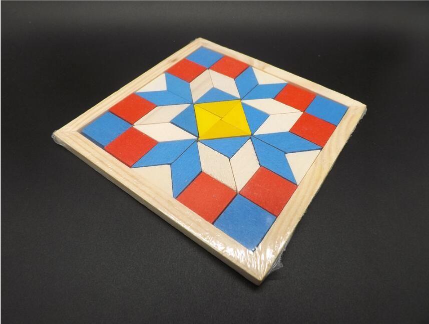 Geometria Bambini ~ Divertimento geometria rombo tangrams logica puzzle giocattoli in