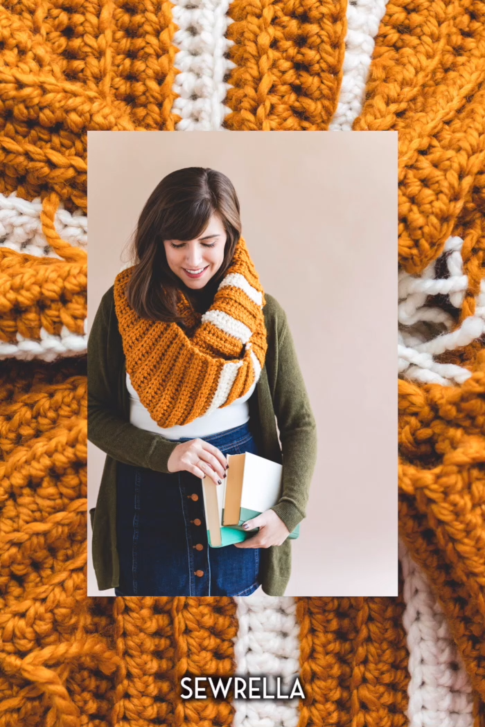 Photo of Crochet Infinity Scarf – free pattern