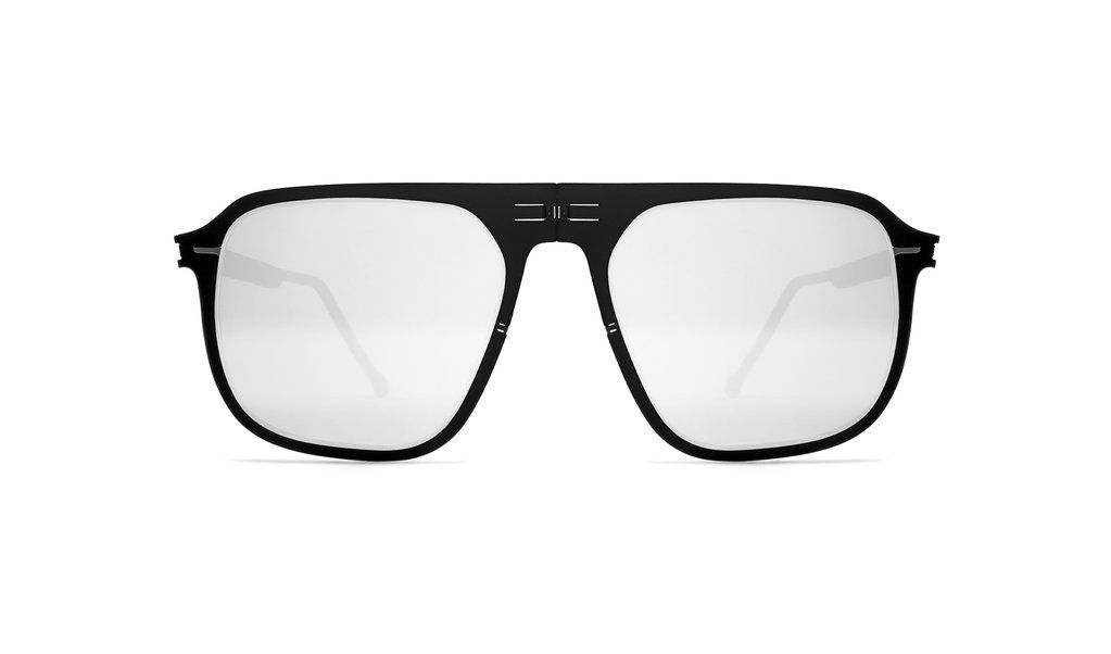 Virgil // Black & Silver | Buy glasses online, Buy glasses and ...