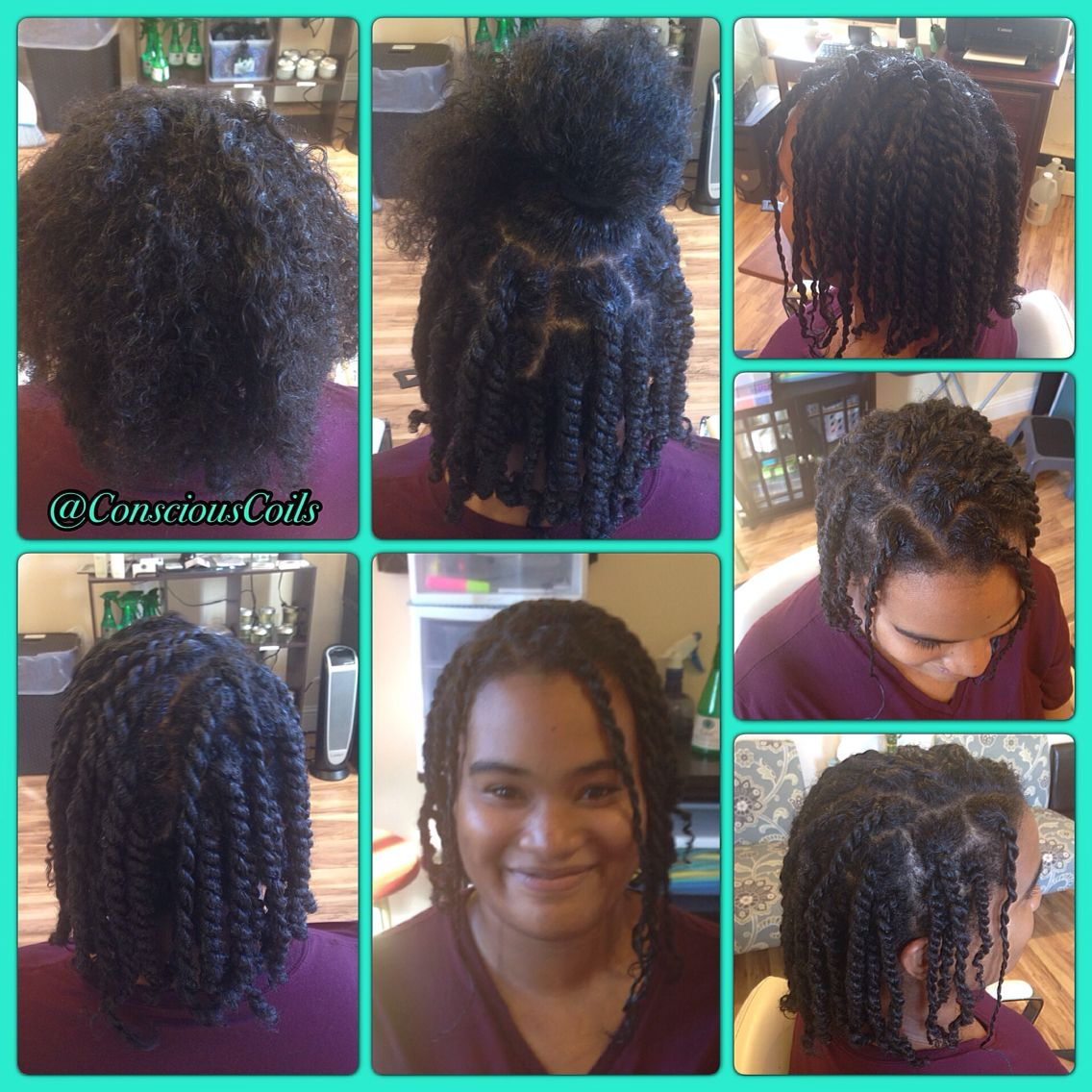 Style Double Strand Twists Client S Hair Type 2c 3a Hair