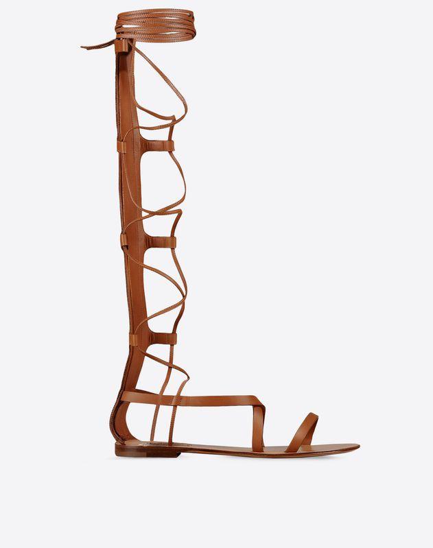 Valentino 'Sea Elemet' Details Sandal
