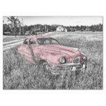 Pink Classic Car Decoupage Tissue Paper | Zazzle.com