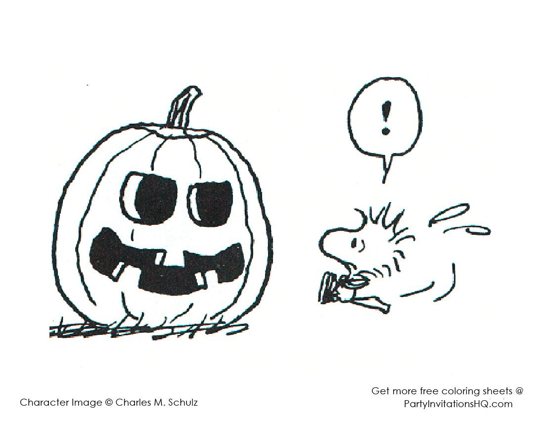 Snoopy and Charlie Brown Coloring Pages Ita Coloring Page