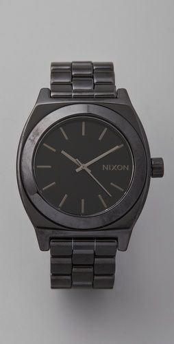 Nixon The Ceramic Time Teller Watch $450