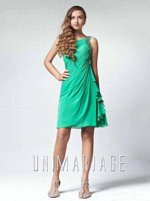 Robes verte for Robe vert aqua pour mariage