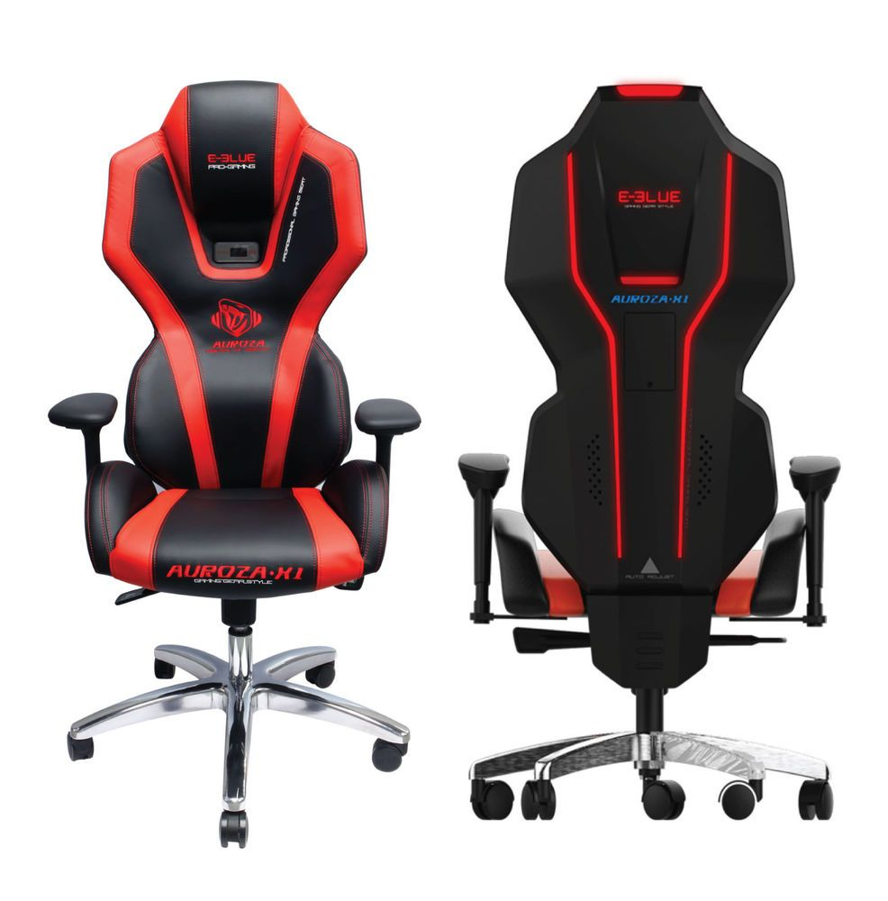 E Blue Auroza Luminance Gaming Chair Racing Seats Computer Office Dxracer Series Oh Rv001 Nv Black Violed High Back Pc Chairs Style Seat Eblue Executivemanagerialchair