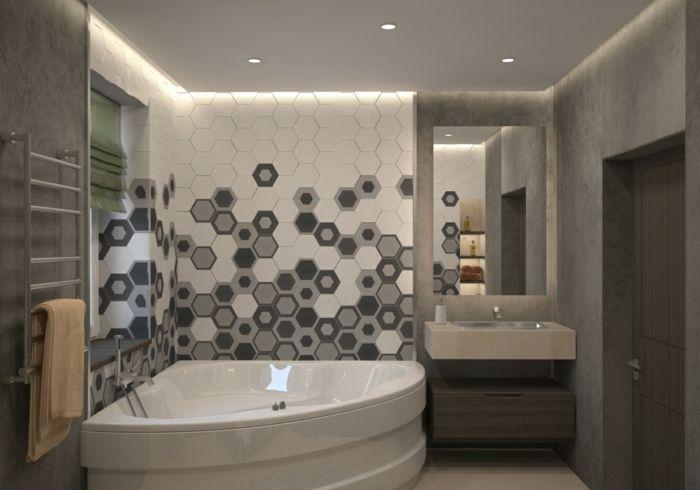 35 badezimmerfliesen ideen f r kleine traumb der bad pinterest bad fliesen ideen bad. Black Bedroom Furniture Sets. Home Design Ideas