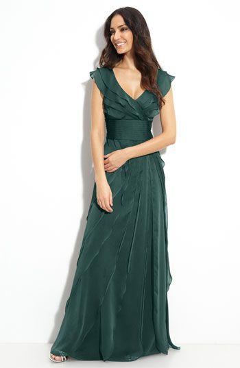 vestido madrinha verde -  dress green