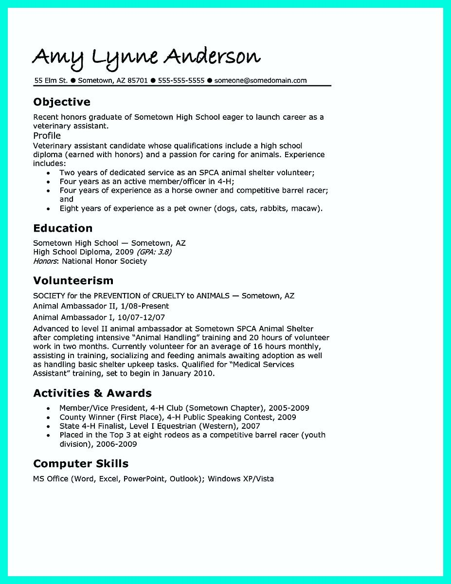 Awesome Cool Sample Of College Graduate Resume With No Experience, Check  More At Http://snefci.org/cool Sample Of College Graduate Resume  With No Experience