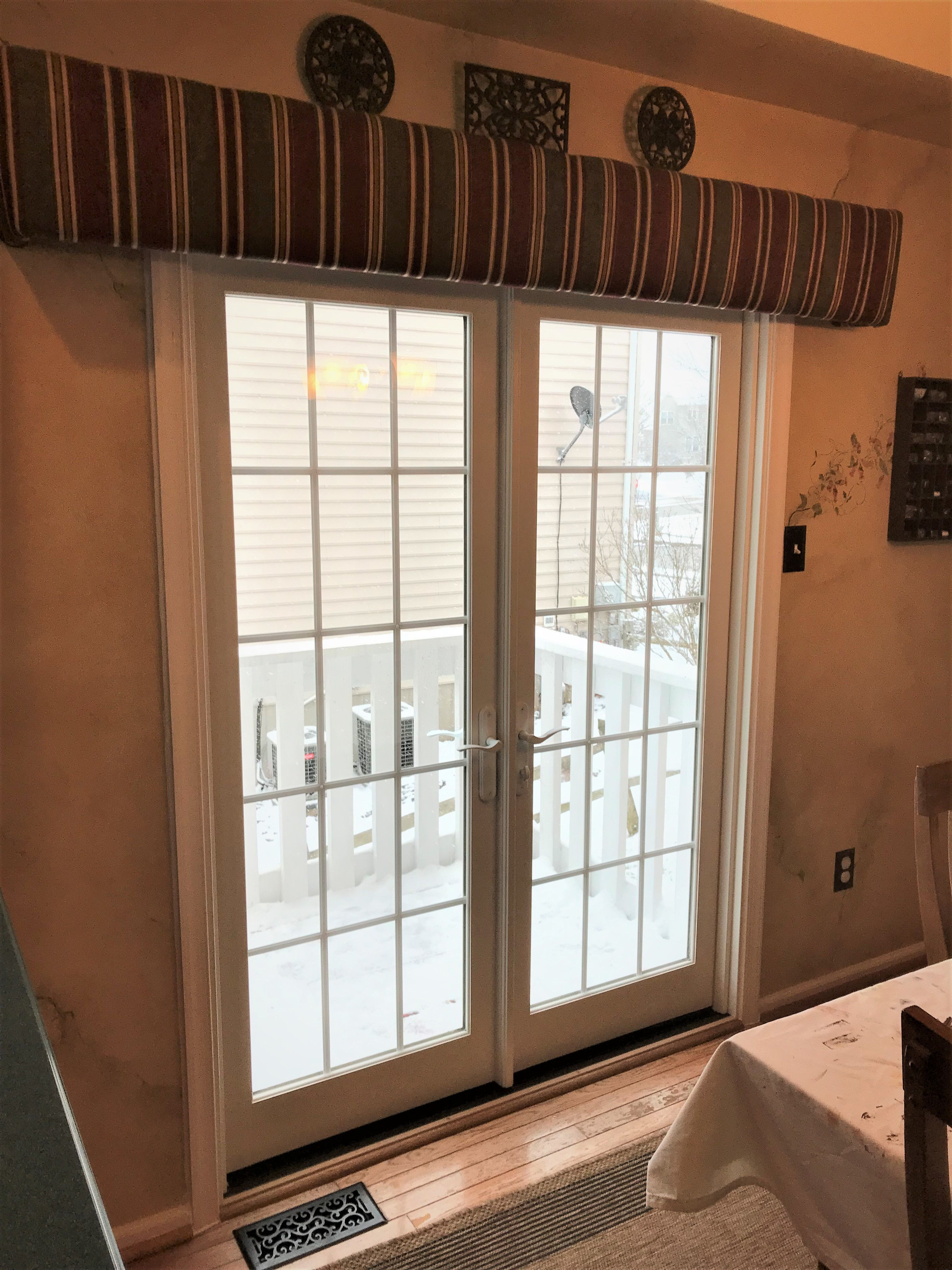 Marvin Integrity French Outswing Door Installation In Collegeville Pa Replacement Patio Doors Door Installation Patio Door Installation