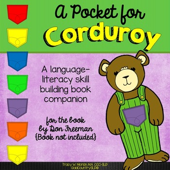 A Pocket For Corduroy A Language Literacy Book Companion