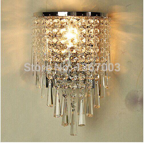 g nstige wundersch ne k9 kristall wandleuchten moderne lampen mode spiegel leuchte neue led. Black Bedroom Furniture Sets. Home Design Ideas