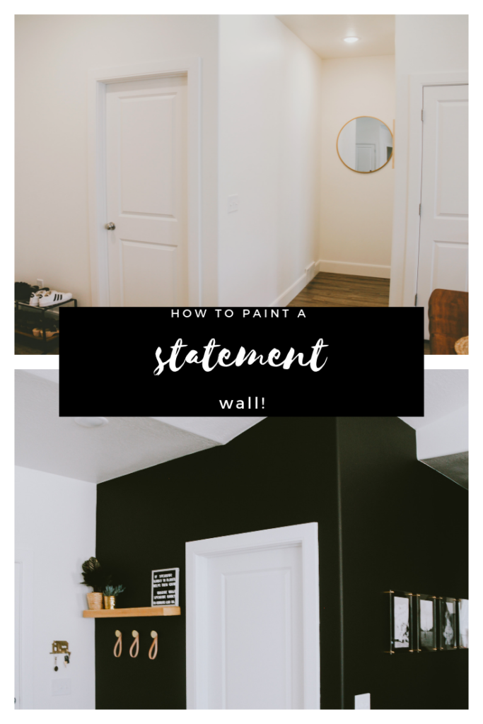 Paint Makes All The Difference The Best Black Paint For Walls Cherrington Chatter Statement Wall Black Painted Walls Statement Walls Living Room