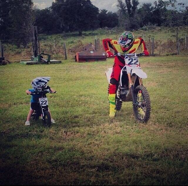 chad and tate that kids gonna be fast so adorable just
