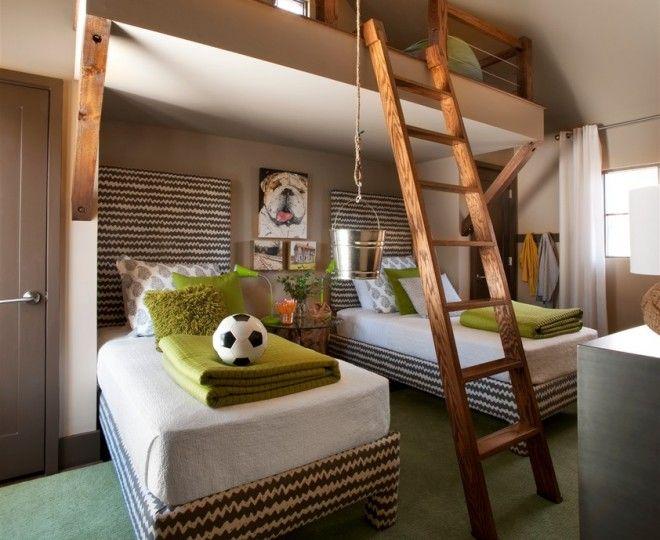 Elegant Adult Loft Bed Vogue Atlanta Transitional Kids Remodeling