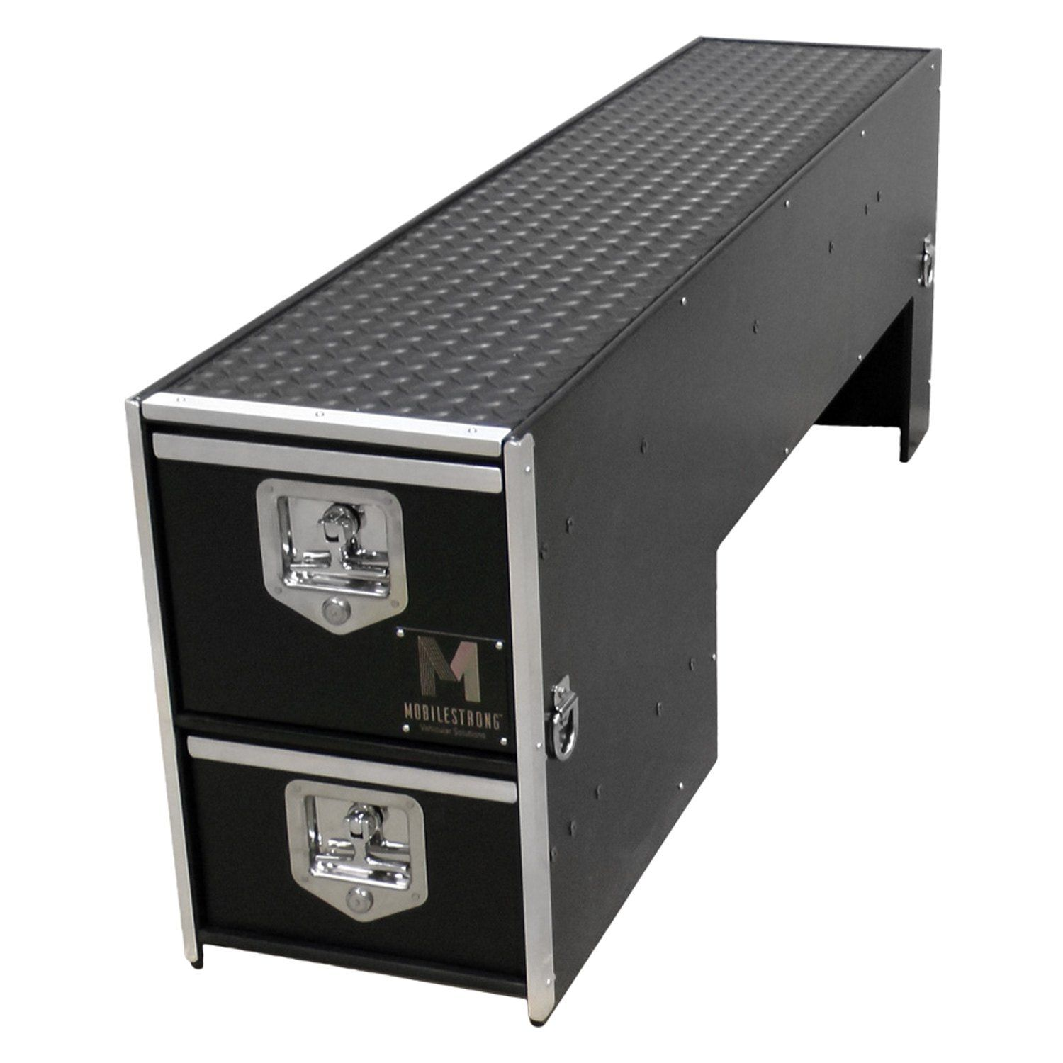 Mobilestrong Hdp Wheel Well Drawer Storage Truck Bed Storage