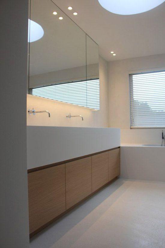 Strakke badkamer inrichting | Fürdőszoba | Pinterest | Badezimmer ...