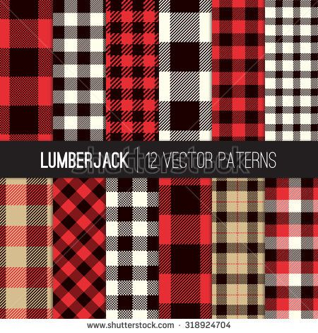 White Coverlet With Red Buffallo Check Striped Checked Pattern Vector 123freevectors Buffalo Plaid Quilt Plaid Decor Buffalo Plaid Decor