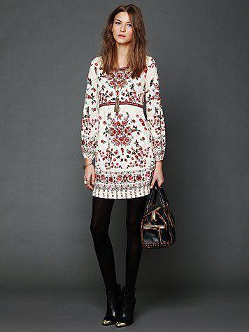 Free People Russian Doll Babydoll Dress Size 4 XS s $168   eBay