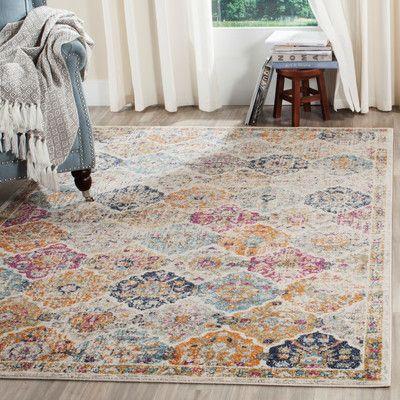 new caledonia cream area rug wayfair