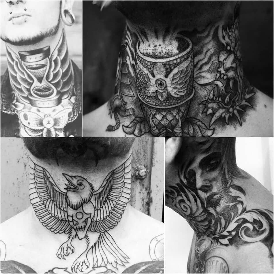 neck tattoo neck tattoos for men neck tattoo ideas