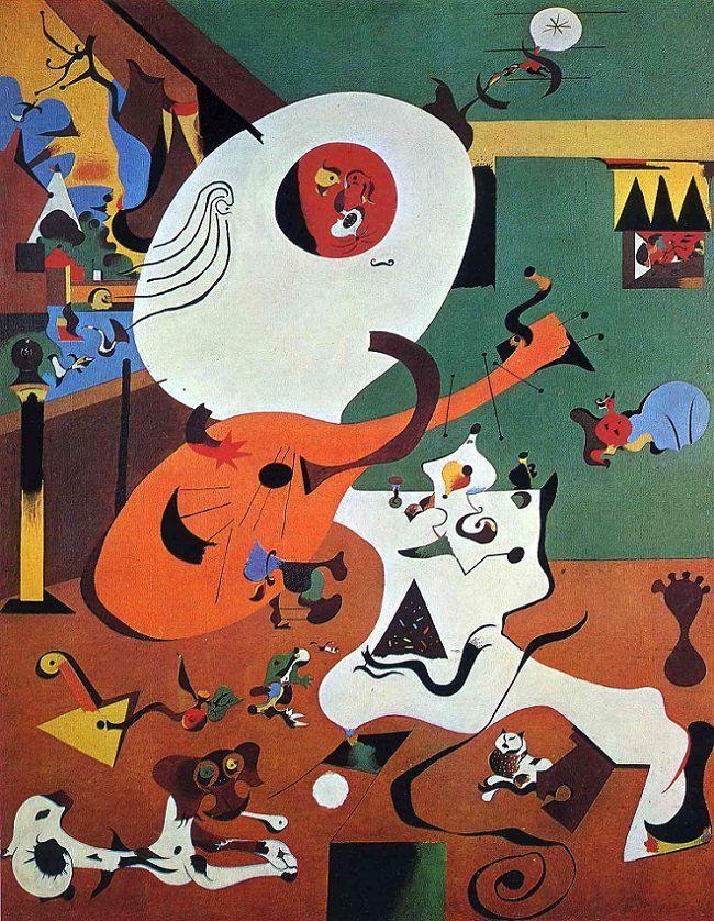 Joan Miró - Dutch Interior