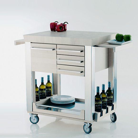 Il Carrello da cucina di Legnoart | Cose che amo | Pinterest ...